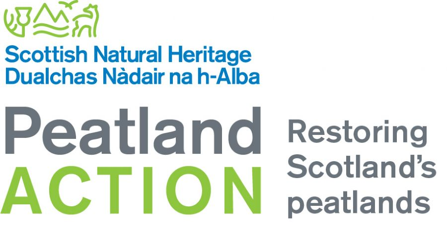 Peatland action logo