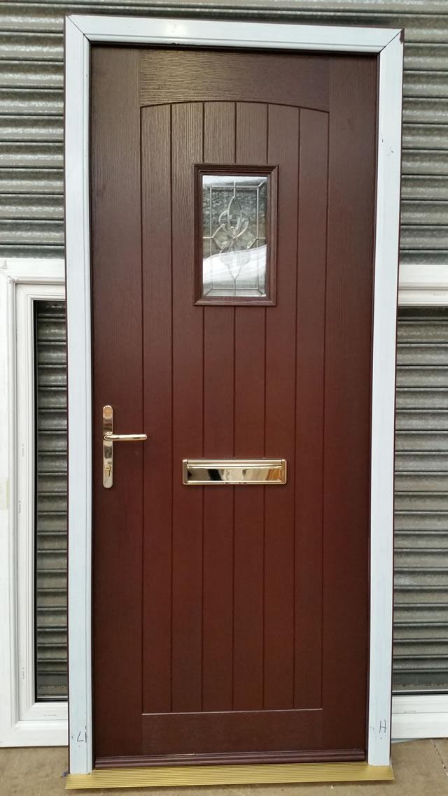 Rosewood Door Panel Amp Stunning Rosewood Double Glazed