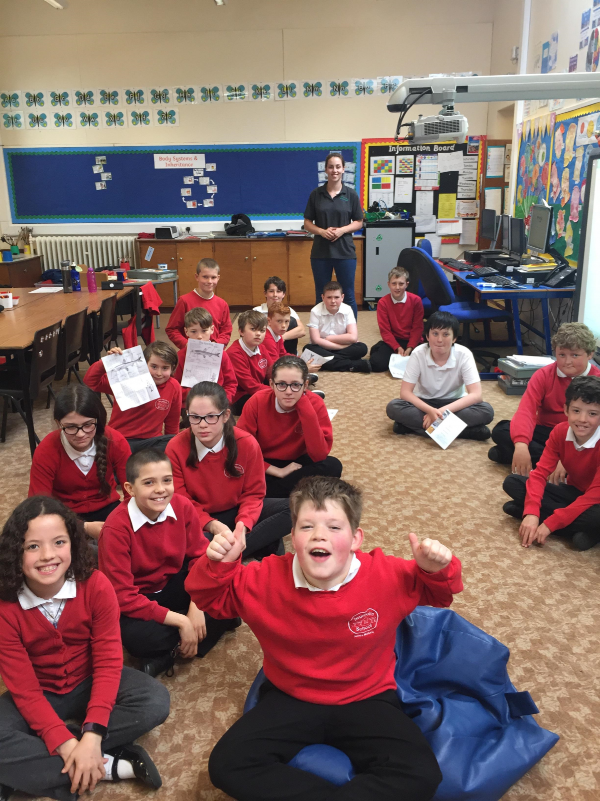 P5-7 of Twynholm Primary enjoyed their Sparling school session, filled with games and activites!