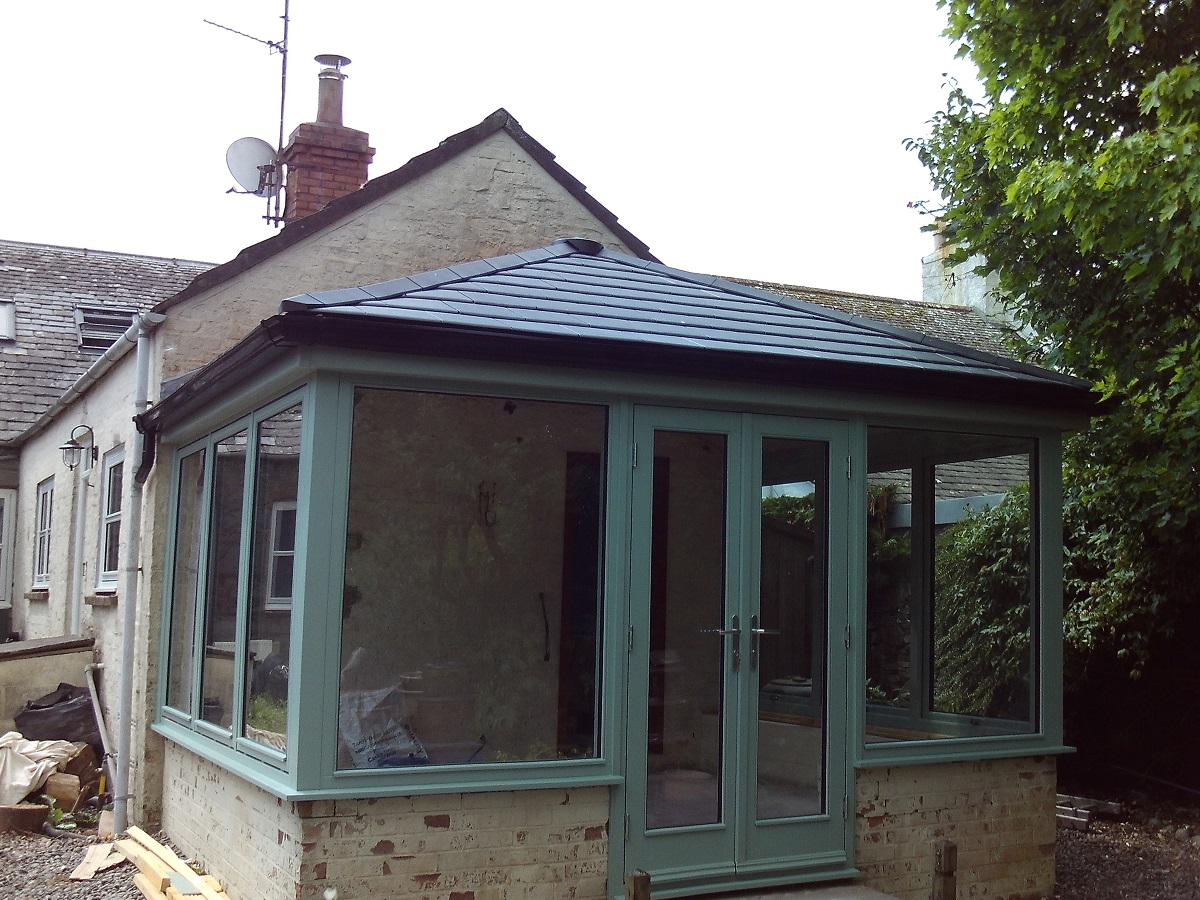 Stunning Chartwell Green Conservatory